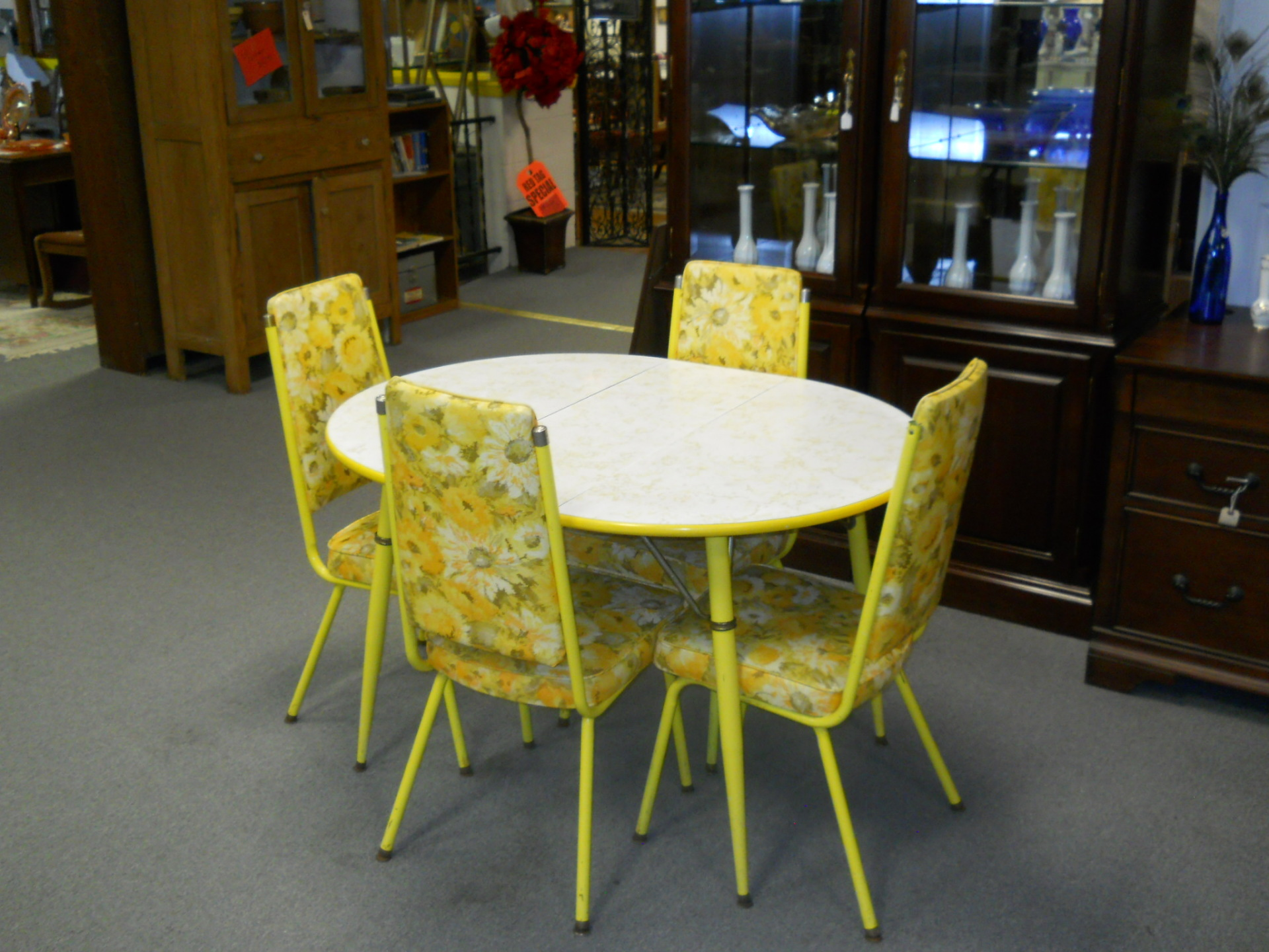 D5 Yellow Table $165